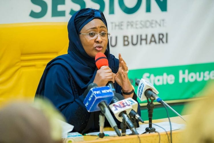 Sallah - Aisha Buhari Makes Demands From Muslims Faithful, Nigerians