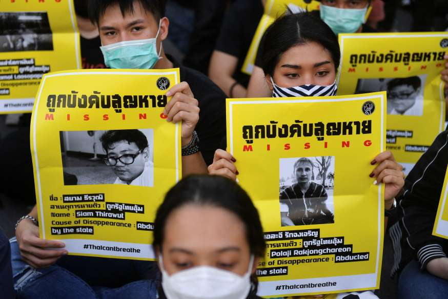 Thai Protesters Call For Government To Resign