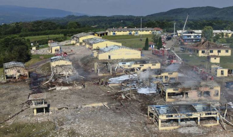 Turkey - Fireworks factory employees detained after explosion