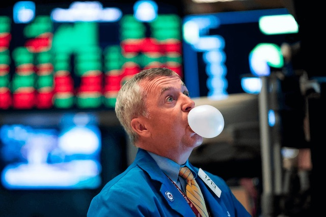 U.S. stock market in the middle of another tech bubble