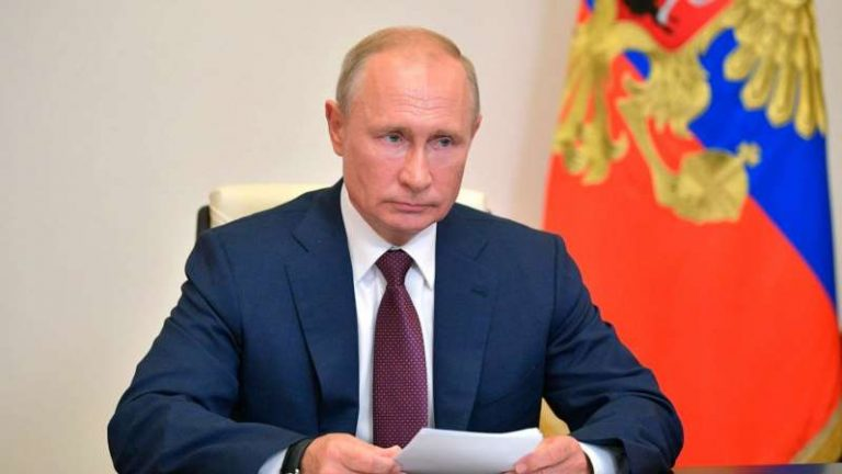 Putin Signs Law That Allows Him Stay In Power Until 2036