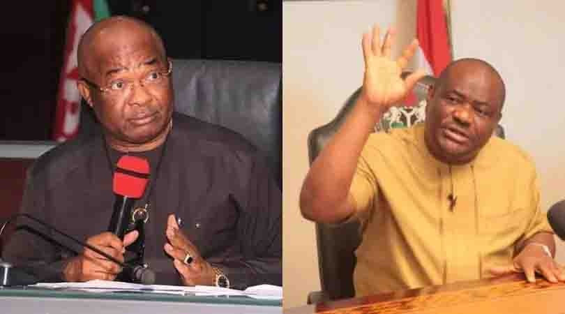 Wike To Uzodinma -Don't Talk When Govs Are Talking