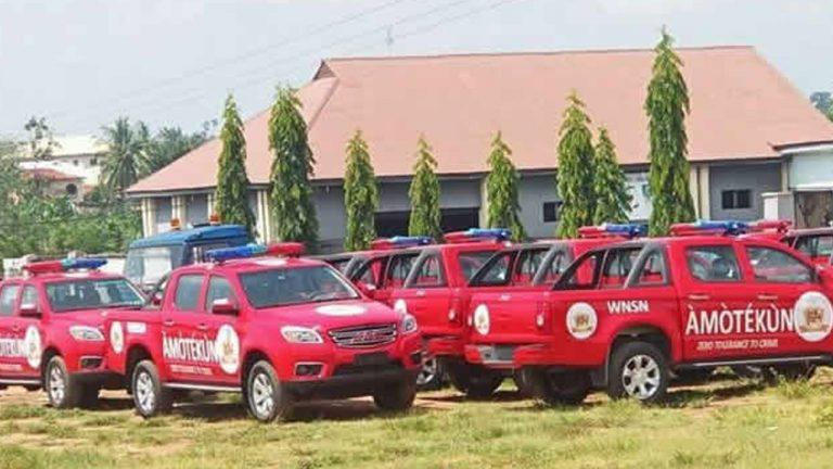 47,000 Candidates Jostle For 2,000 Amotekun Jobs In Oyo