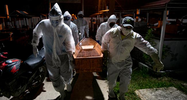 Brazil Coronavirus Death Toll Crosses 100,000