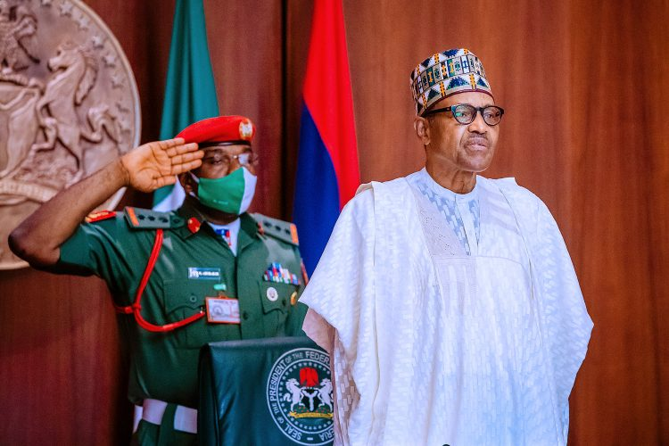 Buhari commissions 114 medics into Air Force; demands absolute loyalty