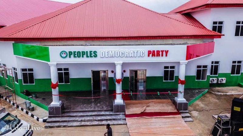 Gov Emmanuel opens new PDP secretariat in Akwa Ibom