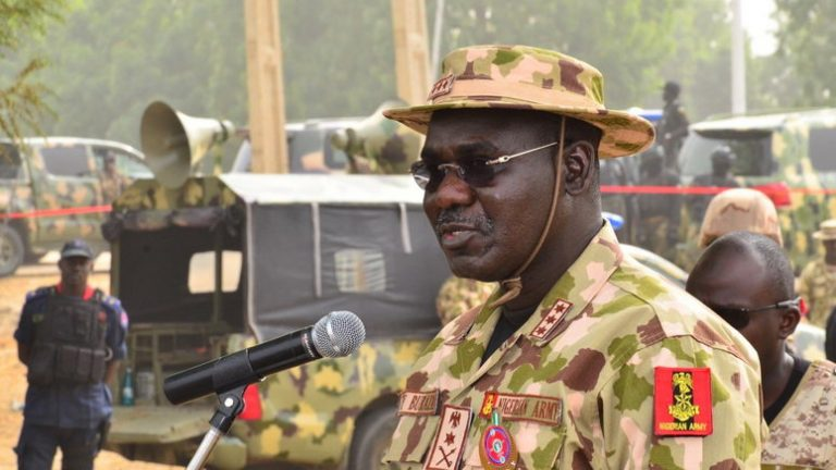 Buratai Breaks Silence As ICC Plans To Investigate Nigerian Army