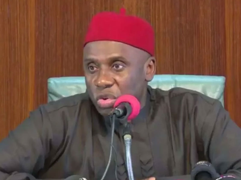 Nothing Wrong With Ceding Nigeria's Sovereignty To China – Amaechi