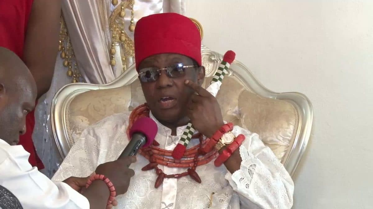 Obaseki vs Ize-Iyamu - I have no candidate – Oba of Benin