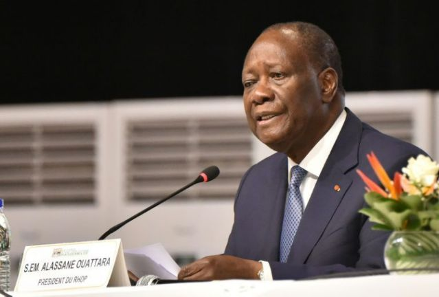 Ivory Coast Leader Urges Peace As He Files Candidacy For Elections