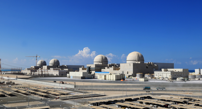 UAE Commences First Arab Nuclear Plant