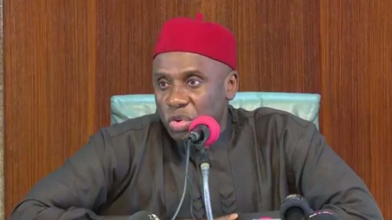 Buhari'll Commission Lagos-Ibadan Railway January – Amaechi