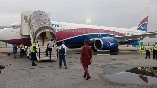 Salary Arrears: Aviation Workers Ground Arik Air