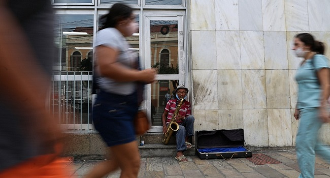 Brazil Jobless Rate Hits Record 13.8%