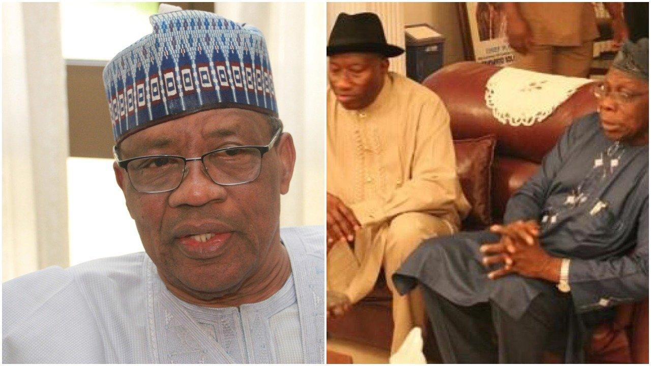 Election Review Committee meets Obasanjo, Jonathan, Babangida