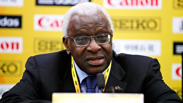 Ex-IAAF chief Lamine Diack jailed for collecting bribes