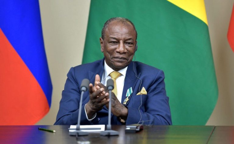 Guinea Leader, Conde Files Papers For Controversial 3rd Term (1)