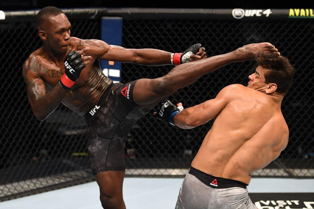 Israel Adesanya defeats rival Paulo Costa to retain UFC championship