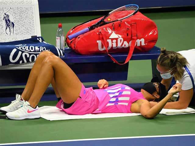 Madison Keys Abandons US Open Match With Neck Injury (1)