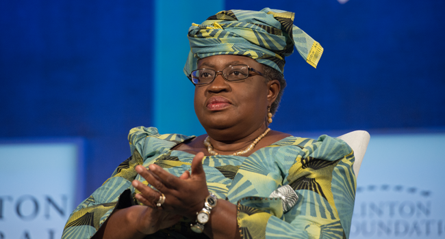 \Okonjo-Iweala Reacts After Emerging Africa Person Of 202Okonjo-Iweala Reacts After Emerging Africa Person Of 2020