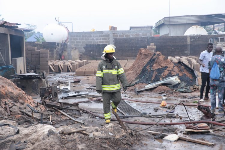 NEMA gives details of Lagos explosion casualties