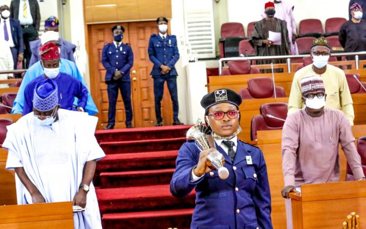 Olorogun Breaks 41-Yr-Old Lagos Assembly Mace Bearer Jinx
