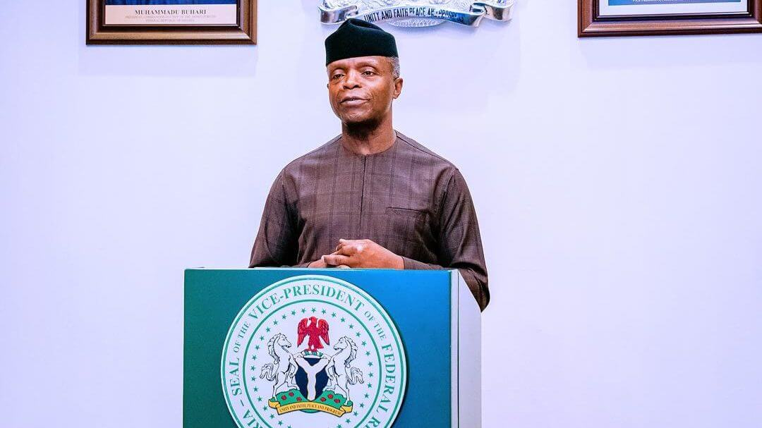 Osinbajo wants equal distribution of COVID-19 vaccine (1)