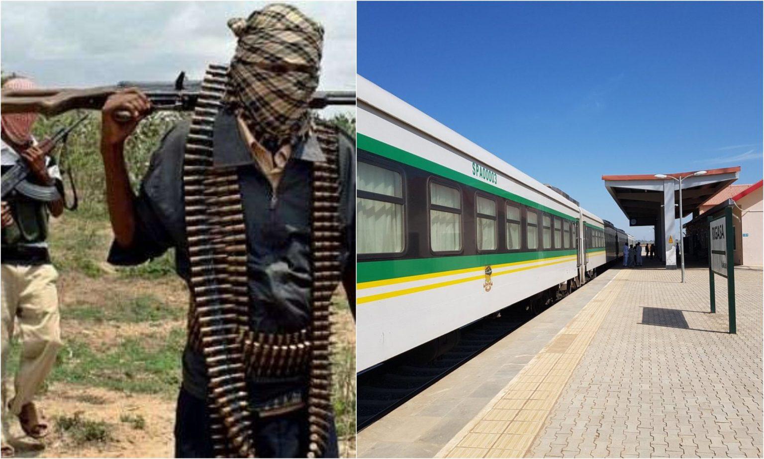 Police react as gunmen reportedly attack Kaduna-bound train