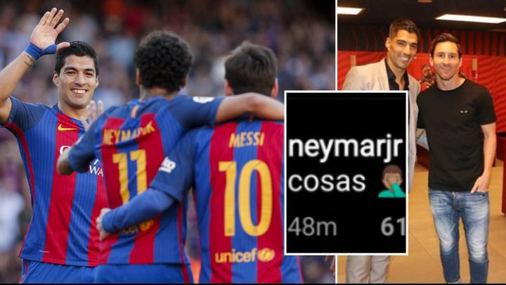 Suarez - Neymar Joins Messi In Slamming Barcelona Board