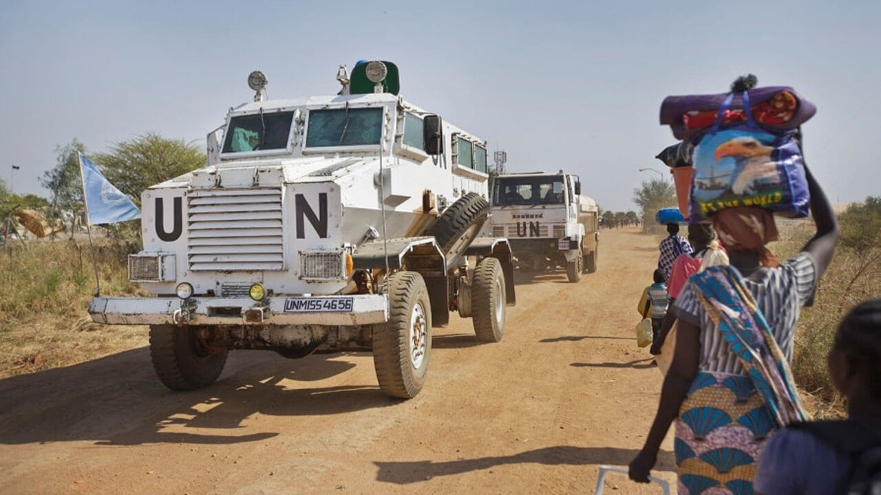 UN Begins Withdrawing Troops From Protection Sites In S -Sudan (1)