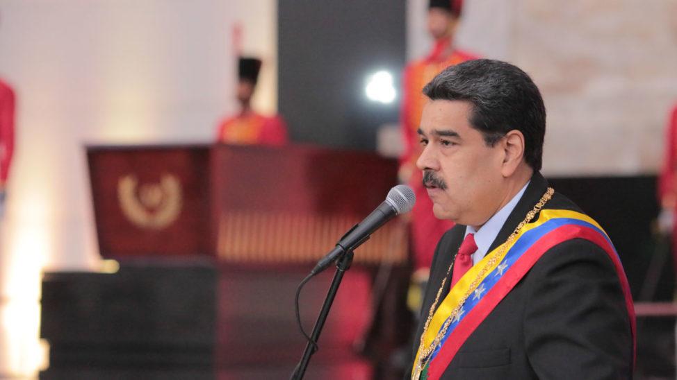 US Announces 'UN' Sanctions On Iran, Venezuela's Maduro