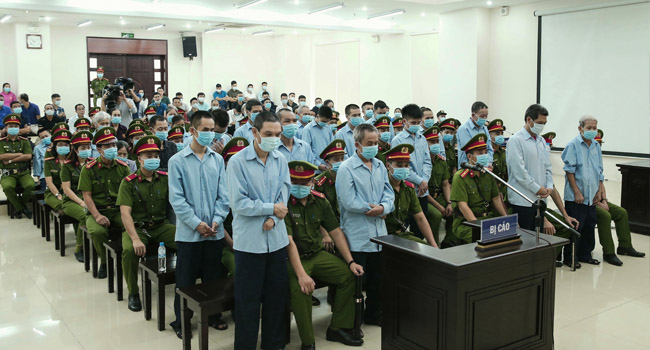 Vietnam Court Sentences Brothers To Death
