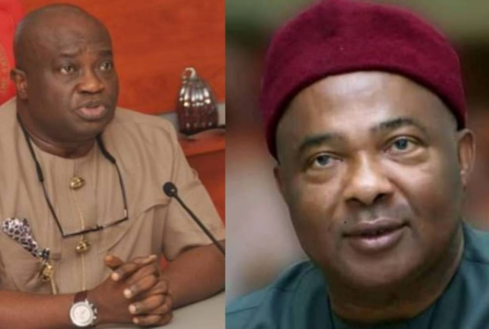 Ikpeazu, Uzodinma: The 2 Governors, Igboland Is Cursed With