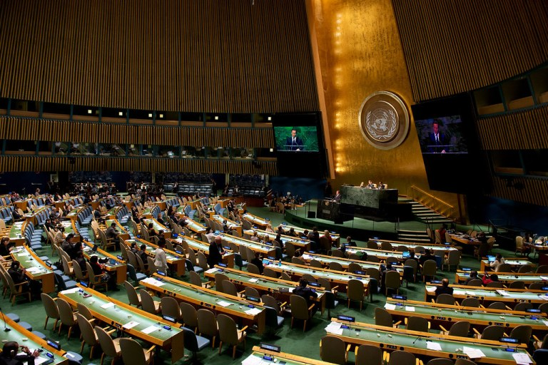 United Nations Adopts `Omnibus Resolution' On COVID-19