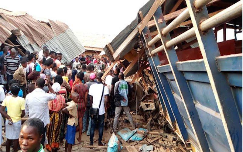 20 Feared Dead As Truck Runs Into Ondo Market