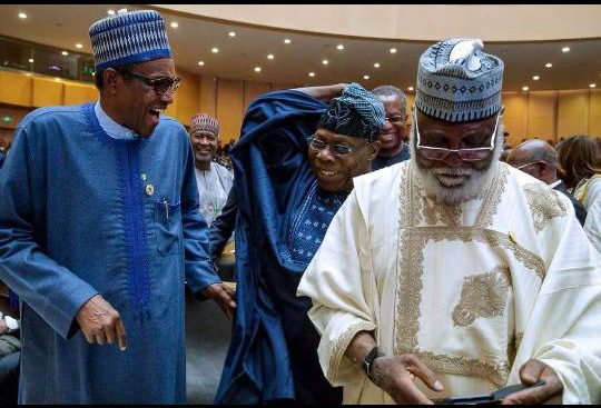 Details Of Buhari's Meeting With Ex-Heads Of State Emerge