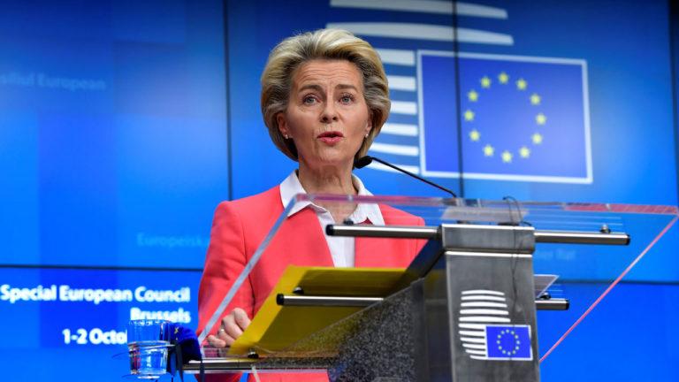 EU chief von der Leyen 'self-isolating' until Tuesday