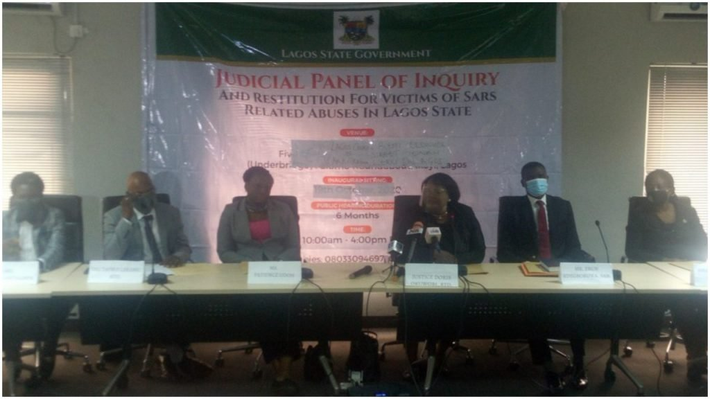 Lekki shooting Lagos panel of inquiry issues directives to victims