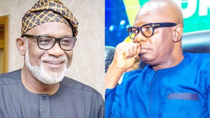 Akeredolu Meets Buhari, Demands Deputy Governor's Resignation