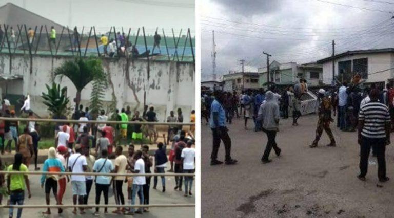 Nigerians React To Edo Prison Break - Its All A Hoax