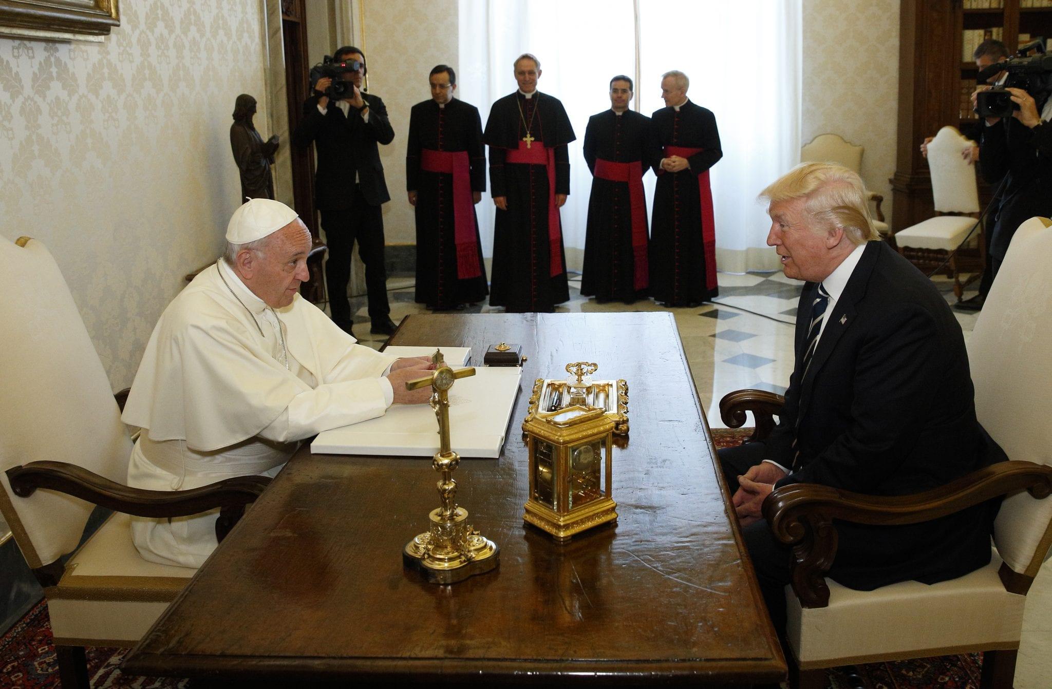 President Trump Replies Pope Francis On Christian Remark