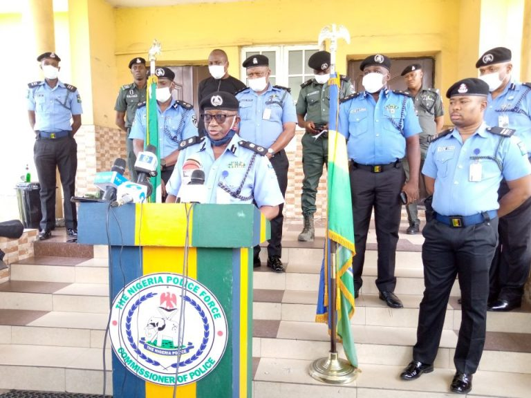 Rivers Police recover burnt bodies of three officers, soldier