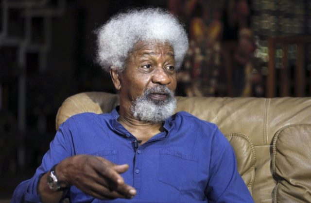 Soyinka Blasts FG Over Use Of Military On 'Unarmed' Protesters,