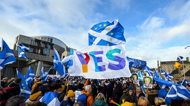 Support for Scottish independence at record high – poll