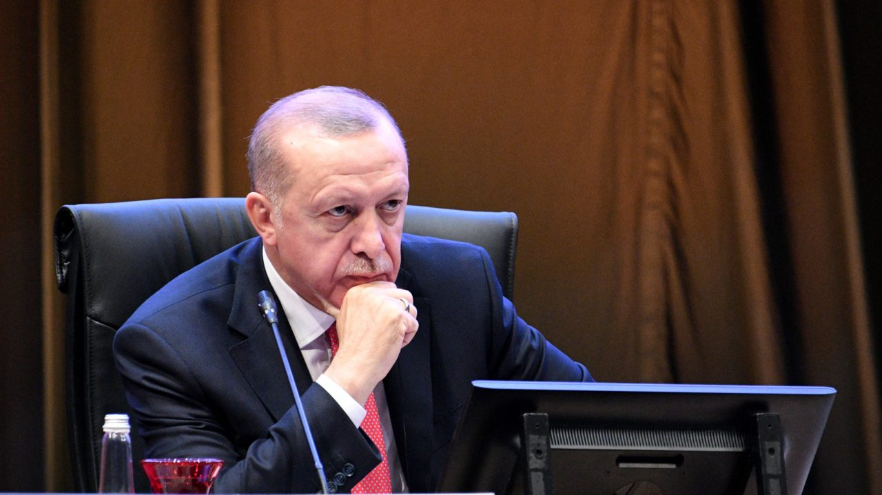 Turkey's Erdogan calls for boycott of French goods