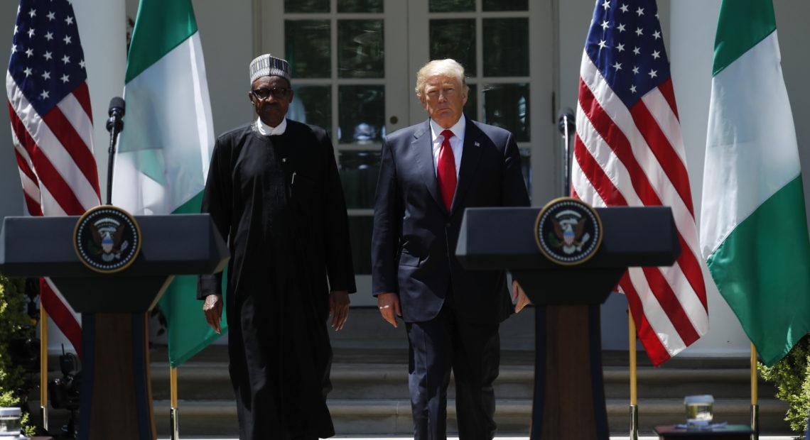 Buhari Enjoyed Good Relationship with Trump- Garba Shehu