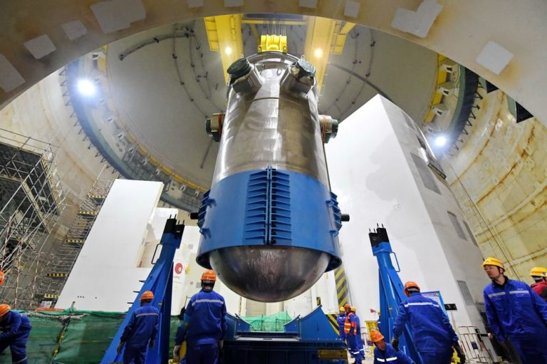 China's First Locally Made Nuclear Reactor Goes Online