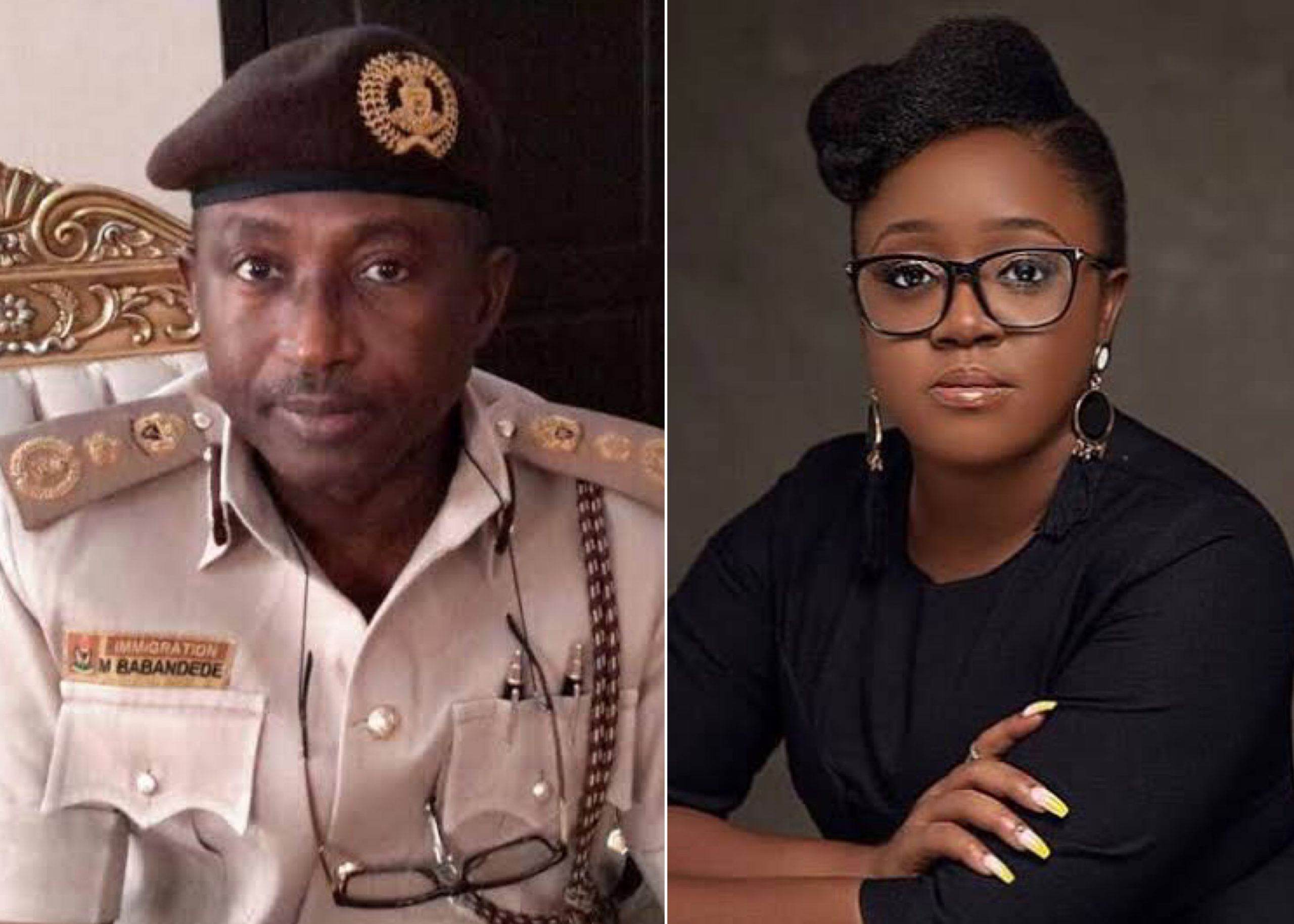 #EndSARS Lawyer Is Clean, Can Travel - Immigration Chief