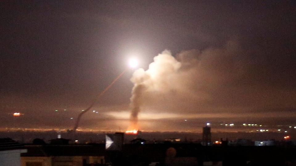 Israel Strikes Iranian Target In Syria Again