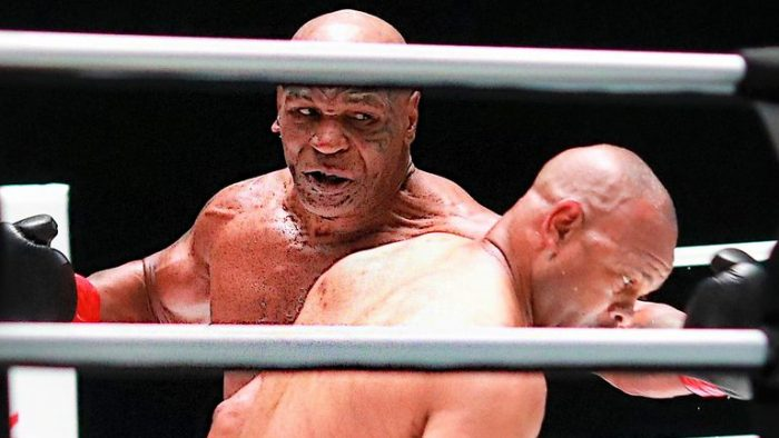 Mike Tyson Draws With Jones Jr In Return Match